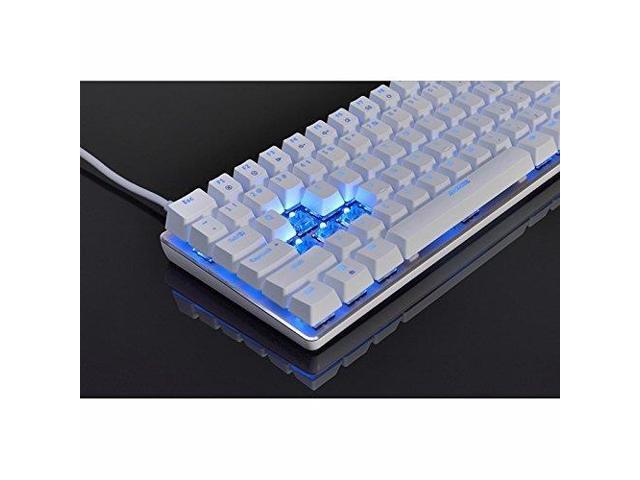 Color : Black Hemengjuan Gaming Keyboard Backlit Waterproof 104-Key Wired LED Keyboard