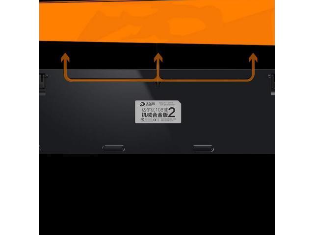 HUIJUNWENTI Mechanical Keyboard Black//White Keyboard 108 Keys Professional Grade RGB Backlight Desktop Laptop PUBG//LOL//APEX Gaming Peripherals Blue//Black//Brown//Red Key Axis High Quali