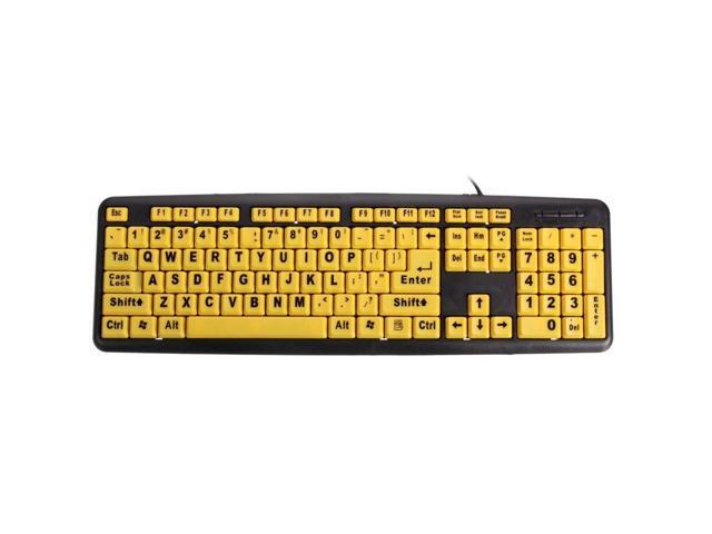 Wyyggnb Gaming Keyboard Computer Ultra-Thin Keyboard USB Wired Office Desktop Computer Game Backlit Keyboard