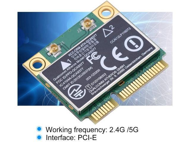 Zerone PCI-E Network Adapter Card WiFi Card Dual Band 2.4G//5Ghz Network Card 433Mbps WiFi Mini PCI-E Wireless Card