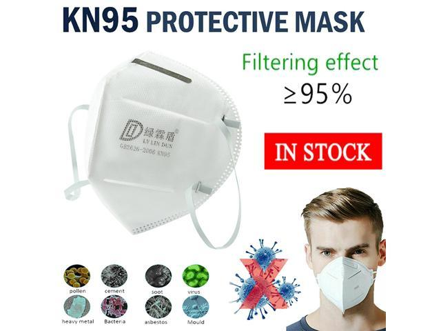 10pcs Pm2.5 N95 Dust Mask Fine Air Filter Odor Smog Cotton Dust Mouth Face Mask