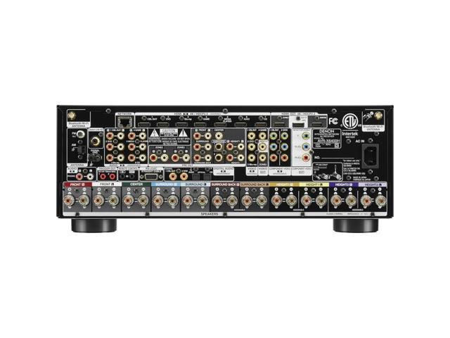Denon AVR-X6400H 11 2 Channel Full 4K Ultra HD Network AV Receiver with  HEOS - Newegg com