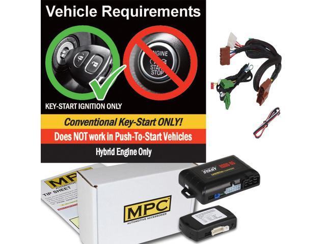 Uses Factory Remotes Bypass Kit For FORD Expedition Add-On Remote Starter