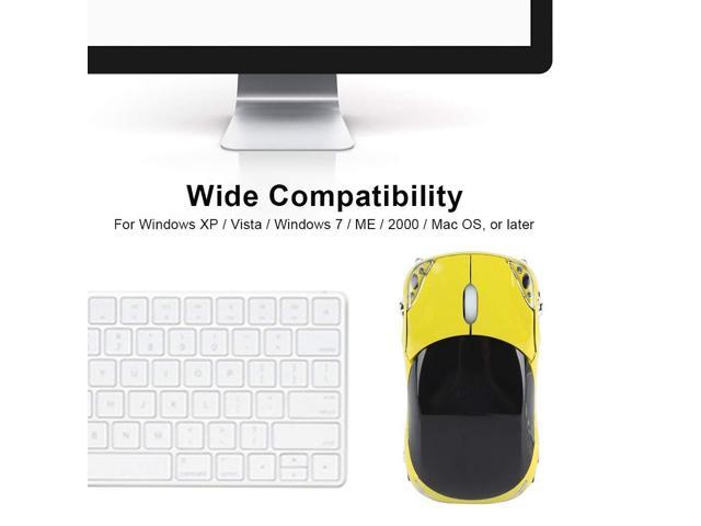 Pink Pasamer Wireless Mouse,2.4G Portable Wireless Mouse Bluetooth Optical Laptop Mouse 1600DPI for Tablet Gaming Office