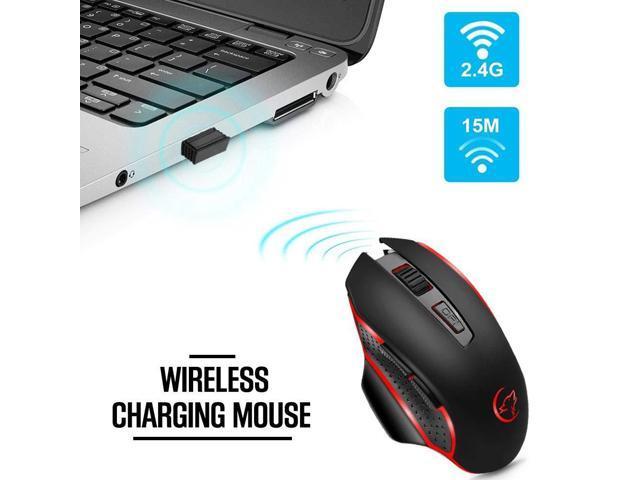 Pasamer Wireless Mouse,Wireless Smart Optical Mouse Simple Fashion Ergonomic Design Mouse for Laptop Desktop