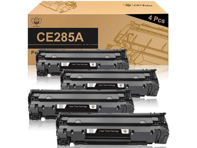 EVESKY CMYBabee Compatible Toner Cartridges Replacement for HP 85A CE285A  for HP Laserjet Pro P1102w P1109w M1212nf M1217nfw MFP Printer(Black,  4-Pack) - Newegg.com