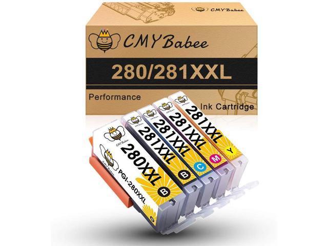 6 PK Combo Black /& Color Ink Set for PGI-280XXL CLI-281XXL TS9120 TS8120 TS8220