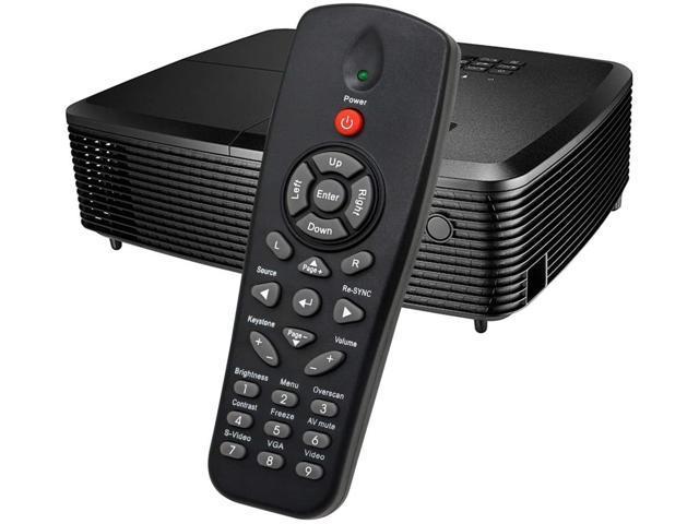 ESolid Projector Remote Control for Vivitek D803 D837 D851 D859 Compatible for Promethean EST-P1 UST-P1 PRM32 PRM-45 PRM35 PRM-45A for ViewSonic PJ588D PJ766D and More No Setting Needed