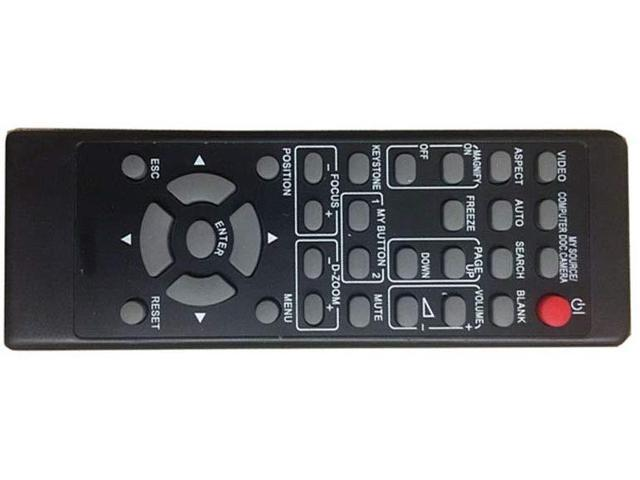 Easy Replacement Remote Control Fit for Hitachi CP-X4014WN CP-X2514NM CP-WX8255 Projector