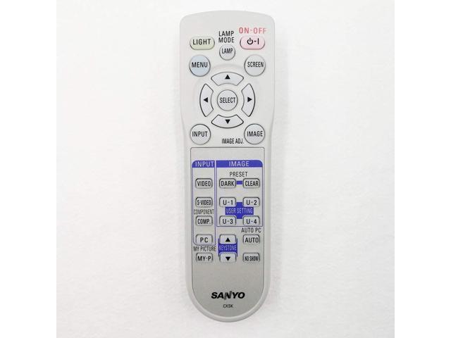 New Replacement Remote Control Applicable for Viewsonic Projector PJD5233 PJD5523W VS14112 VS14114 VS13870 PJD5123 PJD5223 PJD5221 PJD5133 PJD5353 VS14116