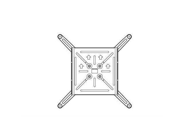 ST Mount,Extension 19.49-49.21 with Universal Mounting Plate