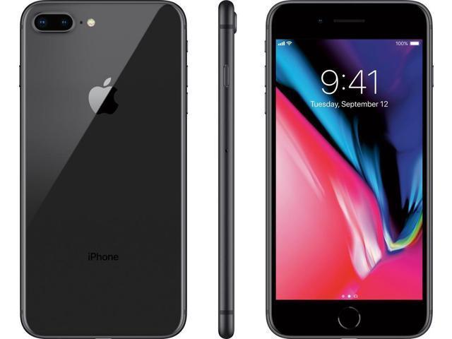 Apple iPhone 8 Plus 256GB Verizon Unlocked T-Mobile AT&T - Space Gray