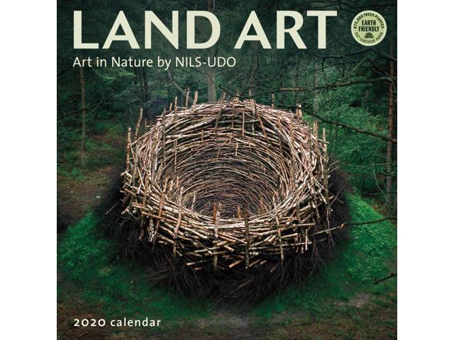 2020 Land Art Wall Calendar, by Amber Lotus - Newegg com