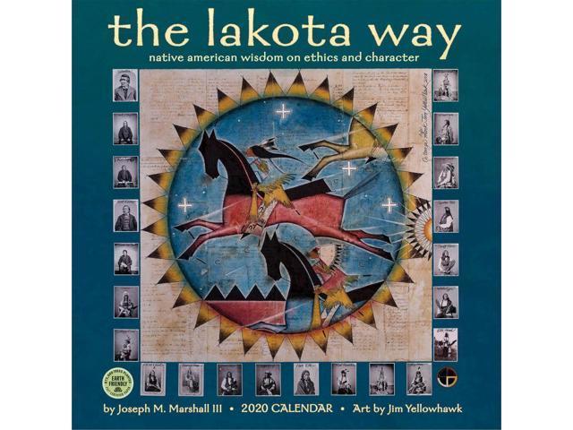 2020 Lakota Way Wall Calendar, by Amber Lotus - Newegg com