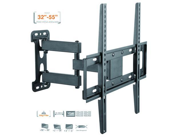 Duramex Tv Wall Mount Corner Bracket For Most 32 55 Inch Led