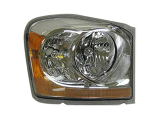 2006 Dodge Durango Penger Side Right Head Lamp Embly 55077720ae V