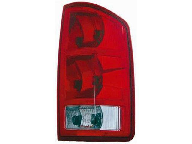 2002 2006 Dodge Ram 1500 Driver Side Left Tail Lamp Lens And Housing 55077347af