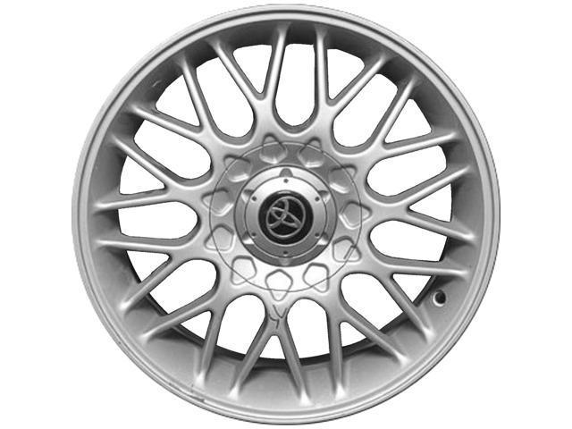 2000 2001 toyota avalon oem 15x6 5 alloy wheel rim silver full face  2000 2001 toyota avalon oem 15x6 5 alloy wheel rim silver full face painted 99037