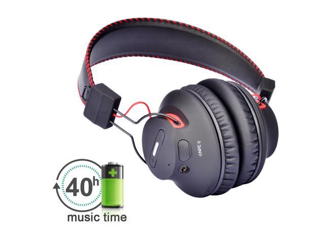 b7f95851305 Avantree Audition Bluetooth 4.0 NFC Over-The-Ear Headphones - Wireless &  Wired