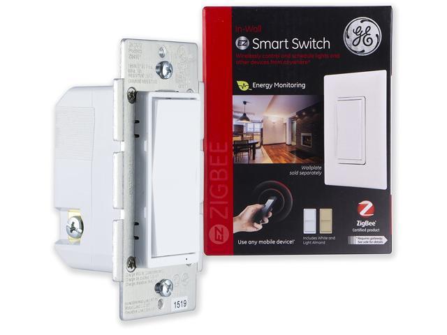 Ge 45856ge Zigbee Inwall Smart Switch Newegg. Ge 45856ge Zigbee Inwall Smart Switch. Smart. Add On Switch Wiring Ge Smart At Scoala.co