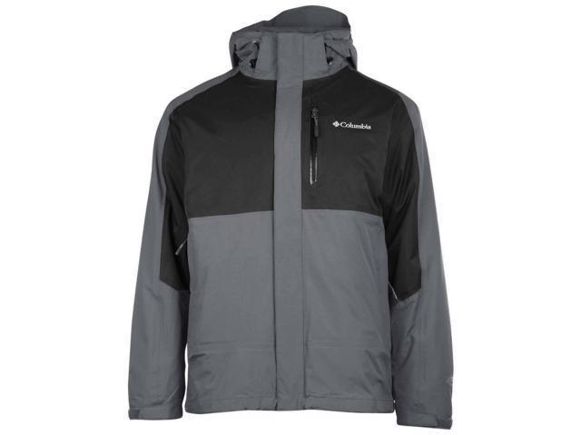 05ee158d3de9 Columbia Men s Rural Mountain II Interchange Jacket-Gray Black ...