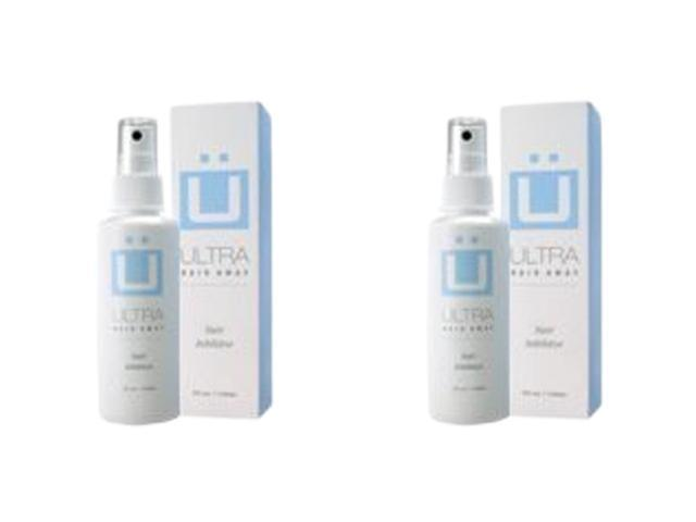 Ultra Hair Away 2 Bottles Hair Growth Inhibitor Permanent