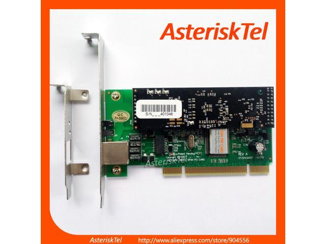 Asterisk card with 1 T1/E1 Port,with Echo Cancellation module ,supports  Asterisk FreePBX Issabel For VoIP Phone System TE110P ISDN ss7 PRI Card -