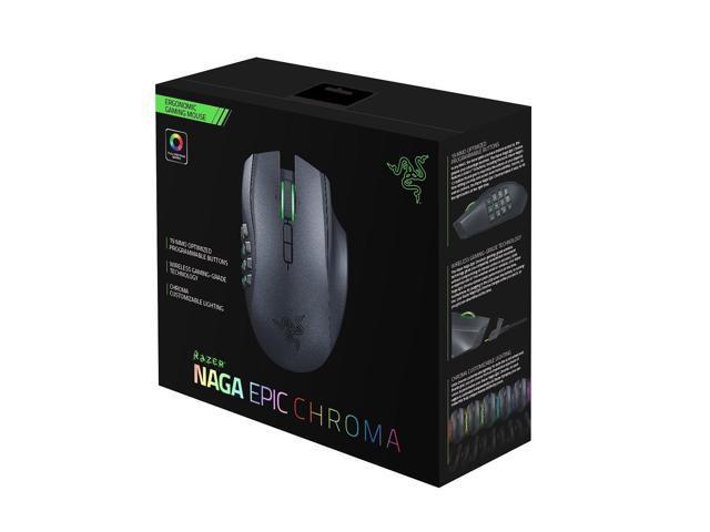 b9e2e8446a0 Razer Naga Epic Chroma 2014 Wireless MMO Gaming Mouse 8200dpi 4G 12 Buttons  - Newegg.com