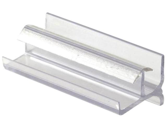 Shower Door Bottom Guide, Clear Prime Line Products Pocket Door Hardware M  6144 - Newegg com