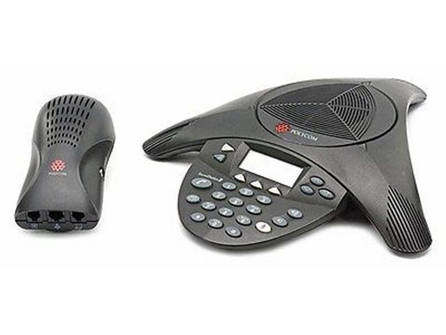 Polycom SoundStation 2 Conference System Microphone Pod NO Cable 2201-07155-605