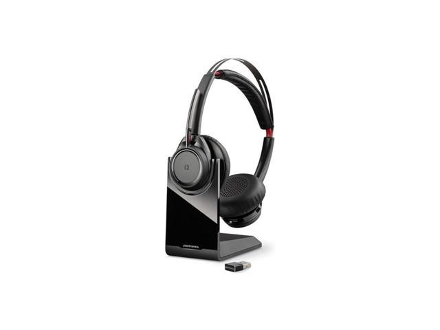 B825 M Plantronics 202652 02 Voyager Focus Uc B825 M Stereo Bluetooth Headset System With Base Headset And Usb Adapter Lifetime Warranty In Stock Ready To Ship Now Newegg Com