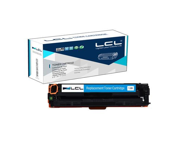 LCL Compatible for HP 131A CF211A (1-Pack Cyan) Toner Cartridge Compatible for