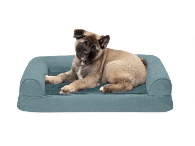 Magnificent Furhaven Pet Dog Bed Memory Foam Plush Suede Couch Sofa Style Pet Bed For Dogs Cats Deep Pool Medium Bralicious Painted Fabric Chair Ideas Braliciousco