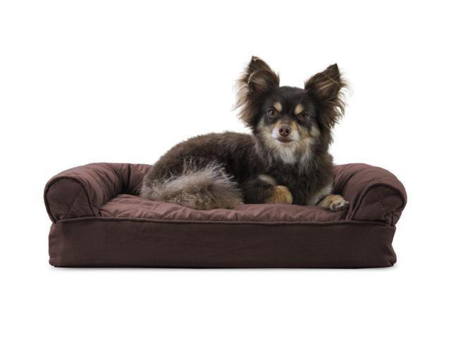 Groovy Furhaven Pet Dog Bed Memory Foam Quilted Couch Sofa Style Pet Bed For Dogs Cats Coffee Small Newegg Com Bralicious Painted Fabric Chair Ideas Braliciousco