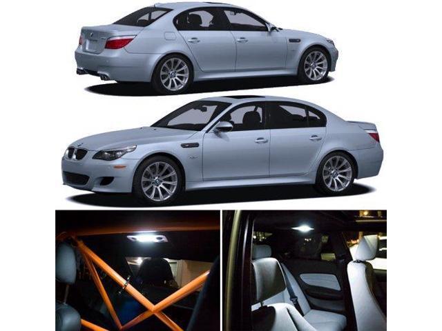 BMW E60 M5 5-Series Interior White SMD LED Lights Package Kit 2004-2010 -  Newegg com