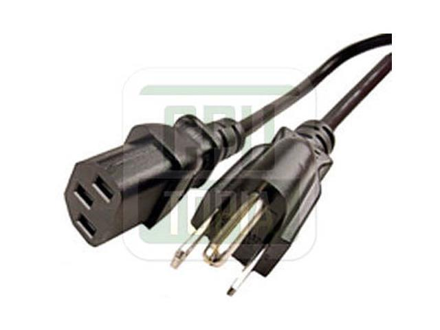 Wholesale Lot 100 PC Computer AC Adapter Power Cable 3 Prong US Cord Scanner