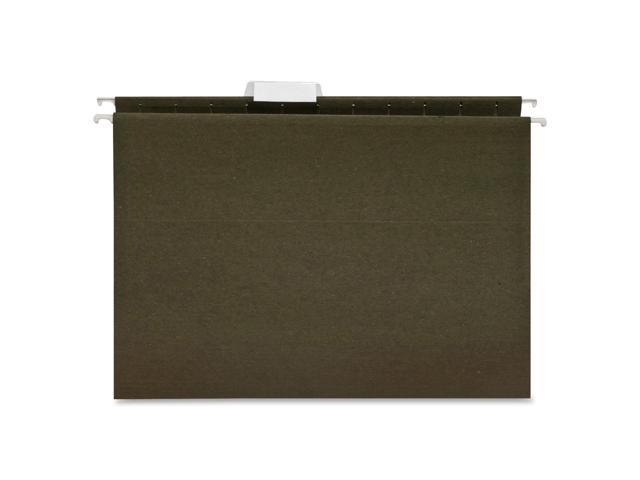 Box of 25 Green Legal Size Business Source Standard Hanging File Folder 26529