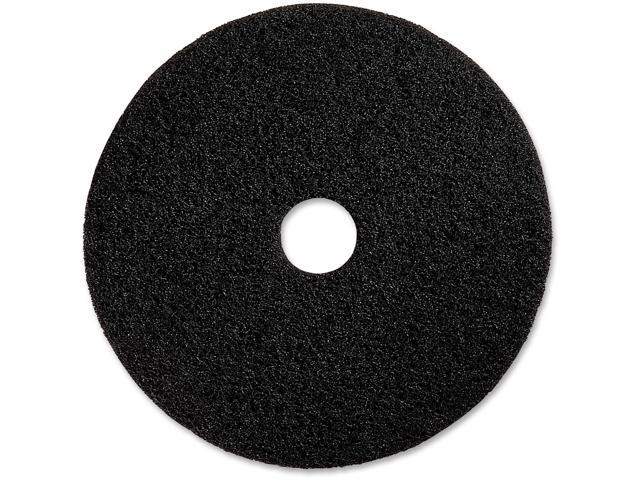 "Genuine Joe Floor Stripping Pads 20/"" 5//CT Black 90220"