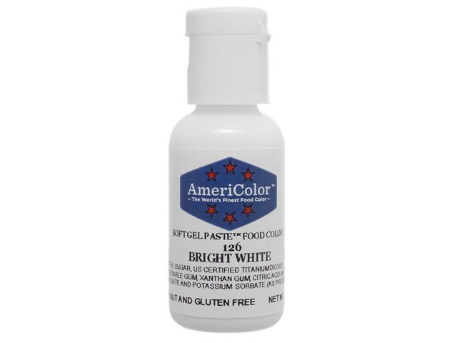 Food Coloring AmeriColor - Bright White Soft Gel Paste, .75 Ounce -  Newegg.com
