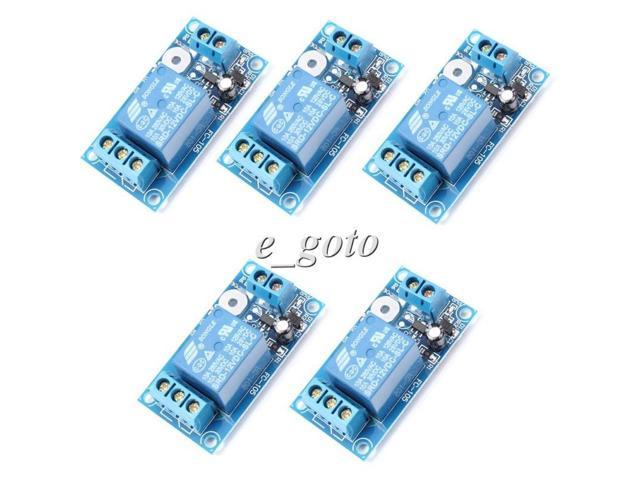 5pcs 1-Channel 12V Relay Module Capacitive Touch Switch Control for MCU SCM  Arduino - Newegg ca
