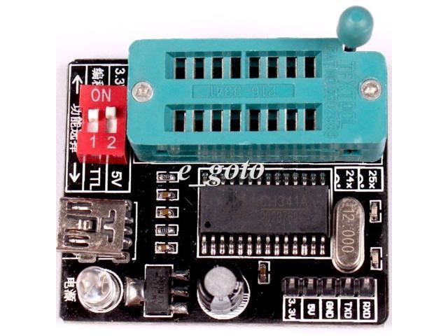 BIOS USB Programmer CH341A 24 25 series EEPROM Flash Universal Programmer -  Newegg com