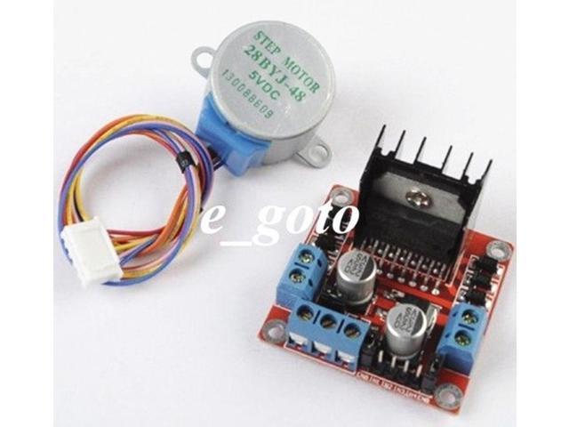arduino L298N stepper motor drive + 28BYJ-48 stepper motor drive circuit