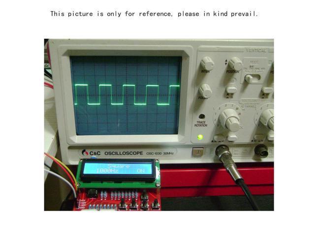DDS Function Signal Generator Module DIY Kit Sine Square Sawtooth Triangle  Wave - Newegg com