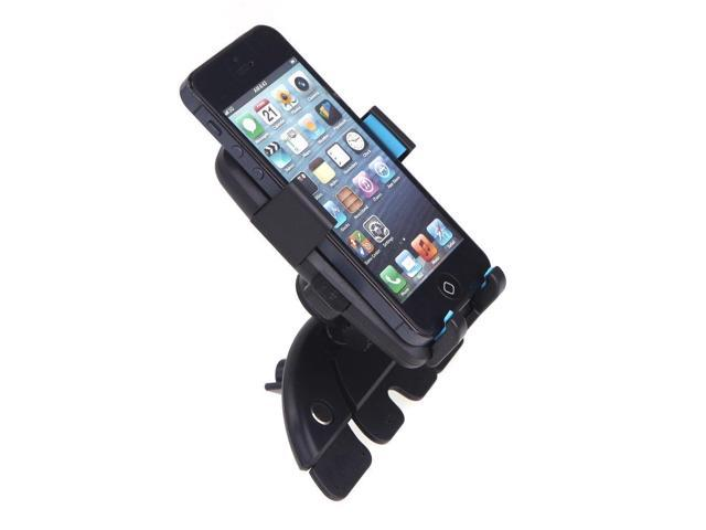 how to put cd on iphone universal car cd slot phone gps holder mount stand for 8562