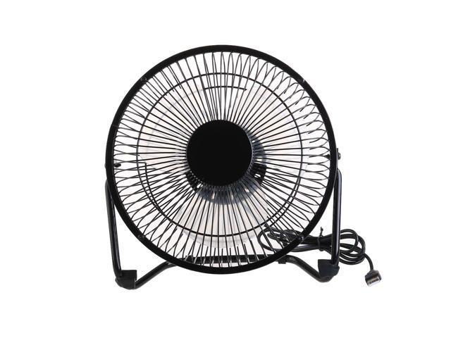 Foxnovo 360-degree Rotating 2-Mode Adjustable USB Power Mini Metal Electric  Cooling Fan for PC /Laptop /Notebook (Black) - Newegg com
