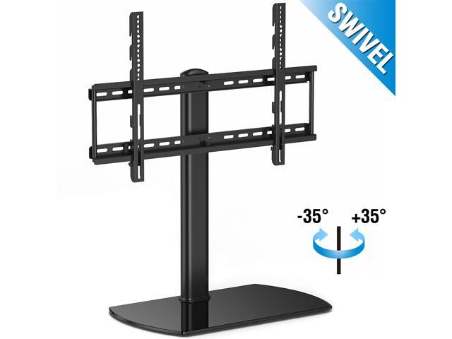 Fitueyes Universal Tv Stand Pedestal Base With Swivel Mount Fits