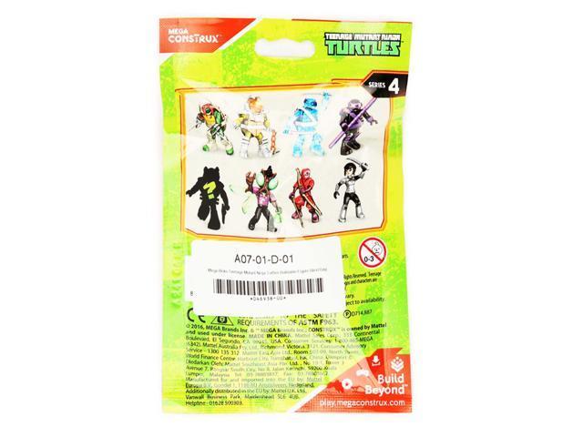 Mega Construx Teenage Mutant Ninja Turtles Karai - Series 4 - Newegg com