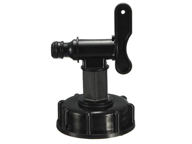 1000L IBC Tote Tank 2 To 1/2 Inch Hose Fittings Adapter With Switch -  Newegg com