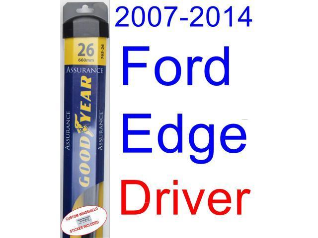 Ford Edge Wiper Blade Driver Goodyear Wiper Blades Assurance