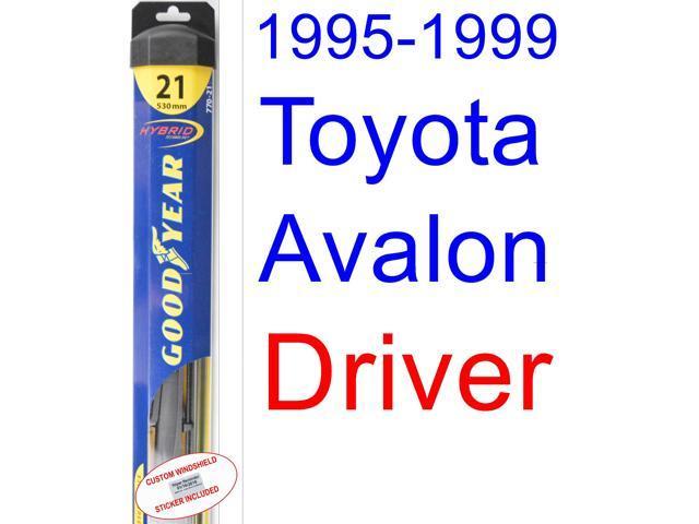 1995 1999 Toyota Avalon Wiper Blade Driver Goodyear Blades Hybrid